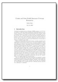 County and State Health Insurance Covera... by Fisher, Robin