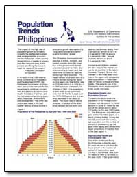 Population Trends: Philippines by U. S. Census Bureau Department
