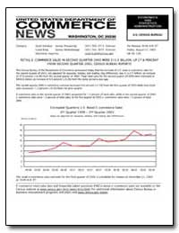 Retail E-Commerce Sales in Second Quarte... by U. S. Census Bureau Department