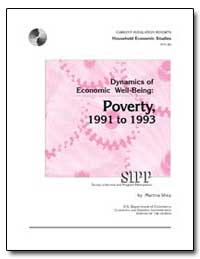 Dynamics of Economic Well-Being : Povert... by U. S. Census Bureau Department