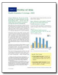 People at Risk: Health Insurance Coverag... by U. S. Census Bureau Department