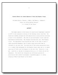 Context Effects for Census Measures of R... by Martin, Elizabeth A.