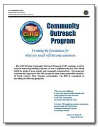 Community Outreach Program by Federal Bureau of Investigation