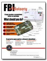 Fbi Advisory by Federal Bureau of Investigation