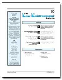 Fbi Law Enforecement Bulletin, 2006 Janu... by Federal Bureau of Investigation