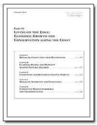 Part IV Living on the Edge : Economic Gr... by Government Printing Office