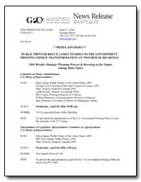 Public Printer Bruce James to Discuss th... by Government Printing Office
