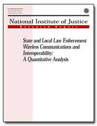 State and Local Law Enforcement Wireless... by Reno, Janet