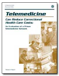 Telemedicine Can Reduce Correctional Hea... by Government Printing Office