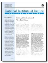 National Institute of Justice by Dunworth, Terence
