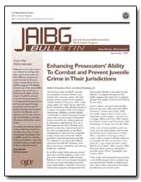 Enhancing Prosecutors' Ability to Combat... by Gramckow, Heike P.