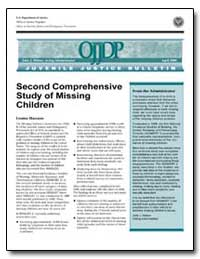 Second Comprehensive Study of Missing Ch... by Hanson, Louise