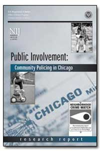 Public Involvement : Community Policing ... by Government Printing Office