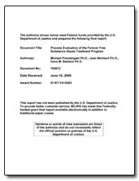 Federal Funds Provided by the U. S. Depa... by Prendergast, Michael