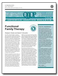 Functional Family Therapy by Glennan, Thomas K.