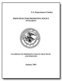 Principles for Promoting Police Integrit... by Government Printing Office
