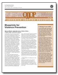 Blueprints for Violence Prevention by Mihalic, Sharon