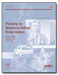 Policing on American Indian Reservations by Ashcroft, John, Attorney General
