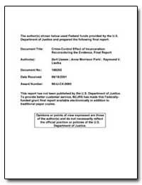 Federal Funds Provided by the U. S. Depa... by Liedka, Raymond V.
