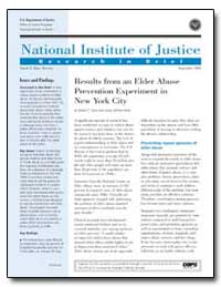 National Institute of Justice by Davis, Robert C.