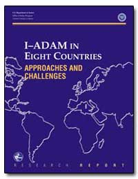 I–Adam in Eight Countries Approaches and... by Government Printing Office