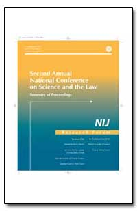 Second Annual National Conference on Sci... by Ashcroft, John, Attorney General