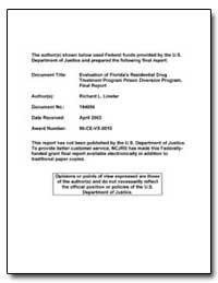 Federal Funds Provided by the U. S. Depa... by Linster, Richard L.
