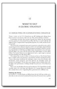 What to Do a Global Strategy by Government Printing Office