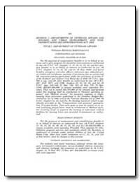 Division I—Departments of Veterans Affai... by Government Printing Office