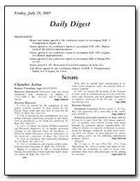 Daily Digest by Government Printing Office