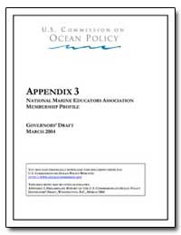 Appendix 3 National Marine Educators Ass... by Government Printing Office
