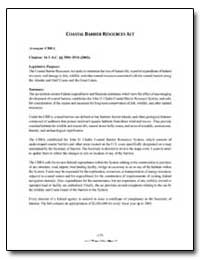 Coastal Barrier Resources Act by Government Printing Office