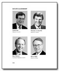 Senate Leadership by Government Printing Office