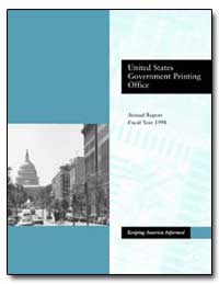United States Government Printing Office by Government Printing Office