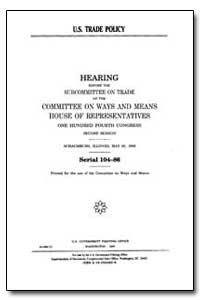 U.S. Trade Policy by Government Printing Office