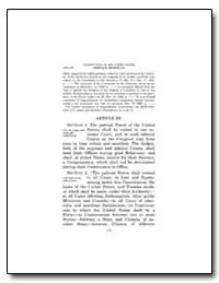 Constitution of the United States by Government Printing Office