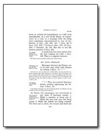 Jefferson's Manual by Government Printing Office