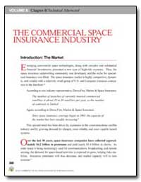 The Commercial Space Insurance Industry by Government Printing Office
