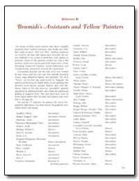 Appendix B : Brumidi's Assistants and Fe... by Government Printing Office