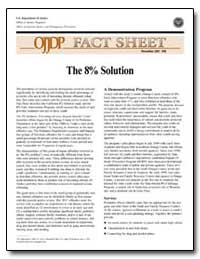 The 8% Solution by Government Printing Office