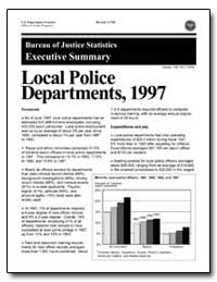 Departments, 1997 by Government Printing Office