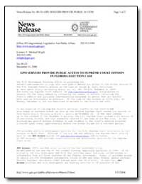 Gpo Servers Provide Public Access to Sup... by Government Printing Office