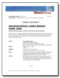 Nevadan Bruce James Brings Home Jobs by Government Printing Office