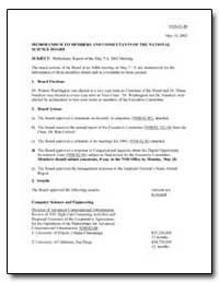 Memorandum to Members and Consultants of... by Government Printing Office