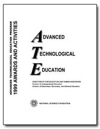 Advanced Technological Education by Government Printing Office