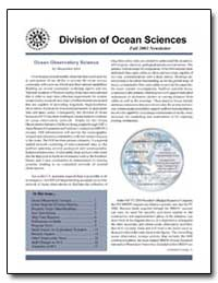 Division of Ocean Sciences by Government Printing Office