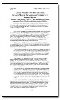 Child Protection Legislation Senate/Hous... by Government Printing Office