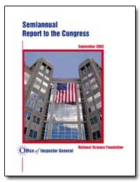 Semiannual Report to the Congress 2002 :... by Government Printing Office