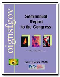 Semiannual Report to the Congress by Government Printing Office