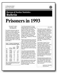 Prisoners in 1993 by Gilliard, Darrell K.